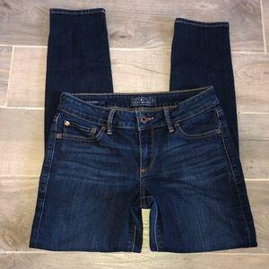 ♥️ Lucky Brand Dark Wash Skinny Jeans